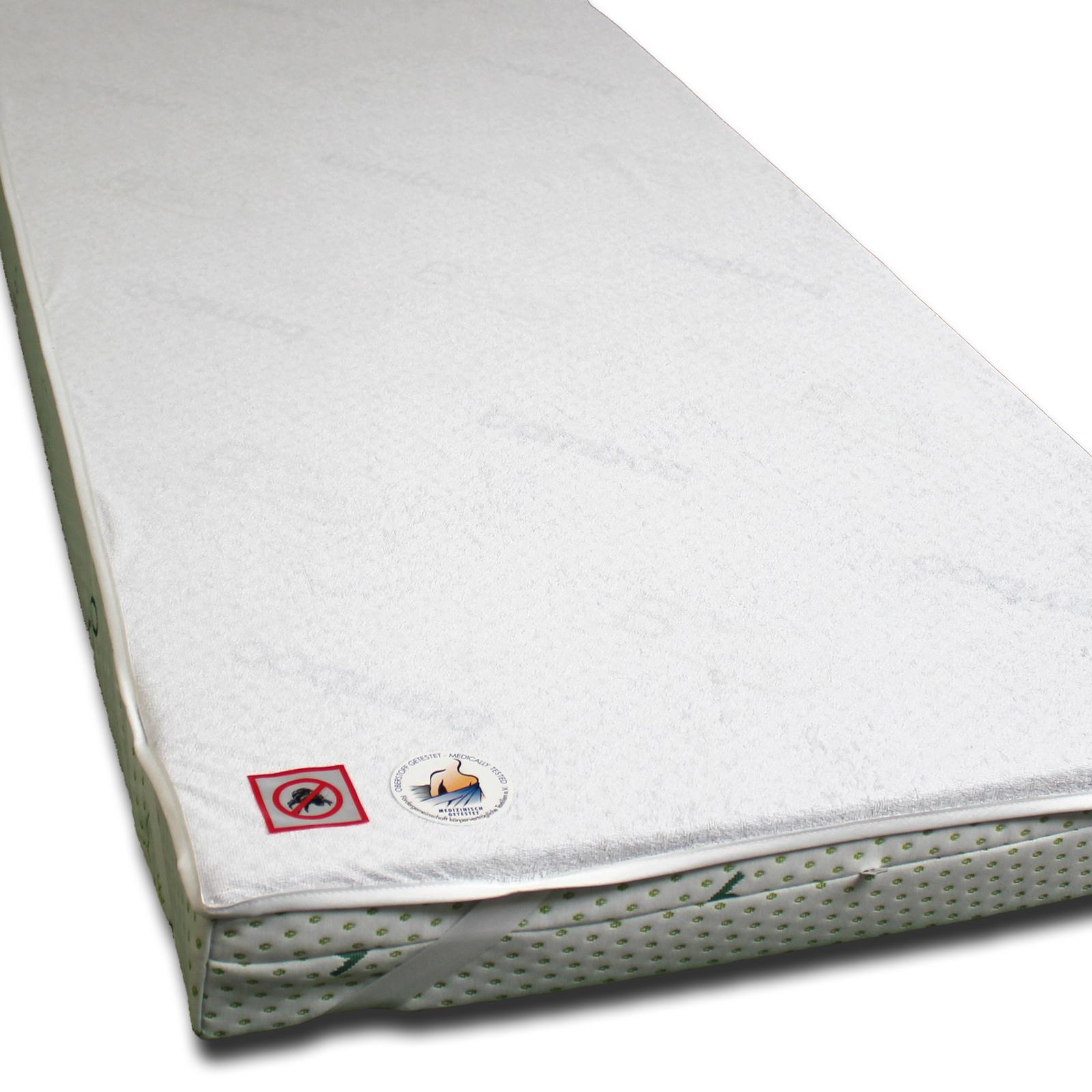 matratzenauflage matratzenschoner frottee inkontinenz wasserdicht n sseschutz ebay. Black Bedroom Furniture Sets. Home Design Ideas