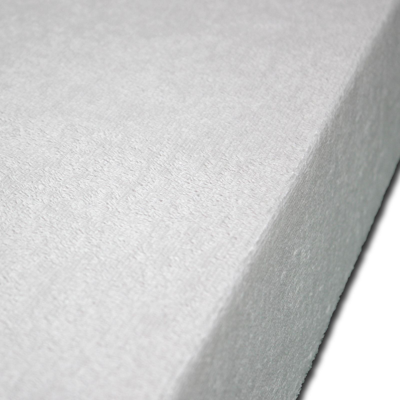 matratzenbezug matratzenschoner wasserdicht inkontinenz frottee 160x200 ebay. Black Bedroom Furniture Sets. Home Design Ideas